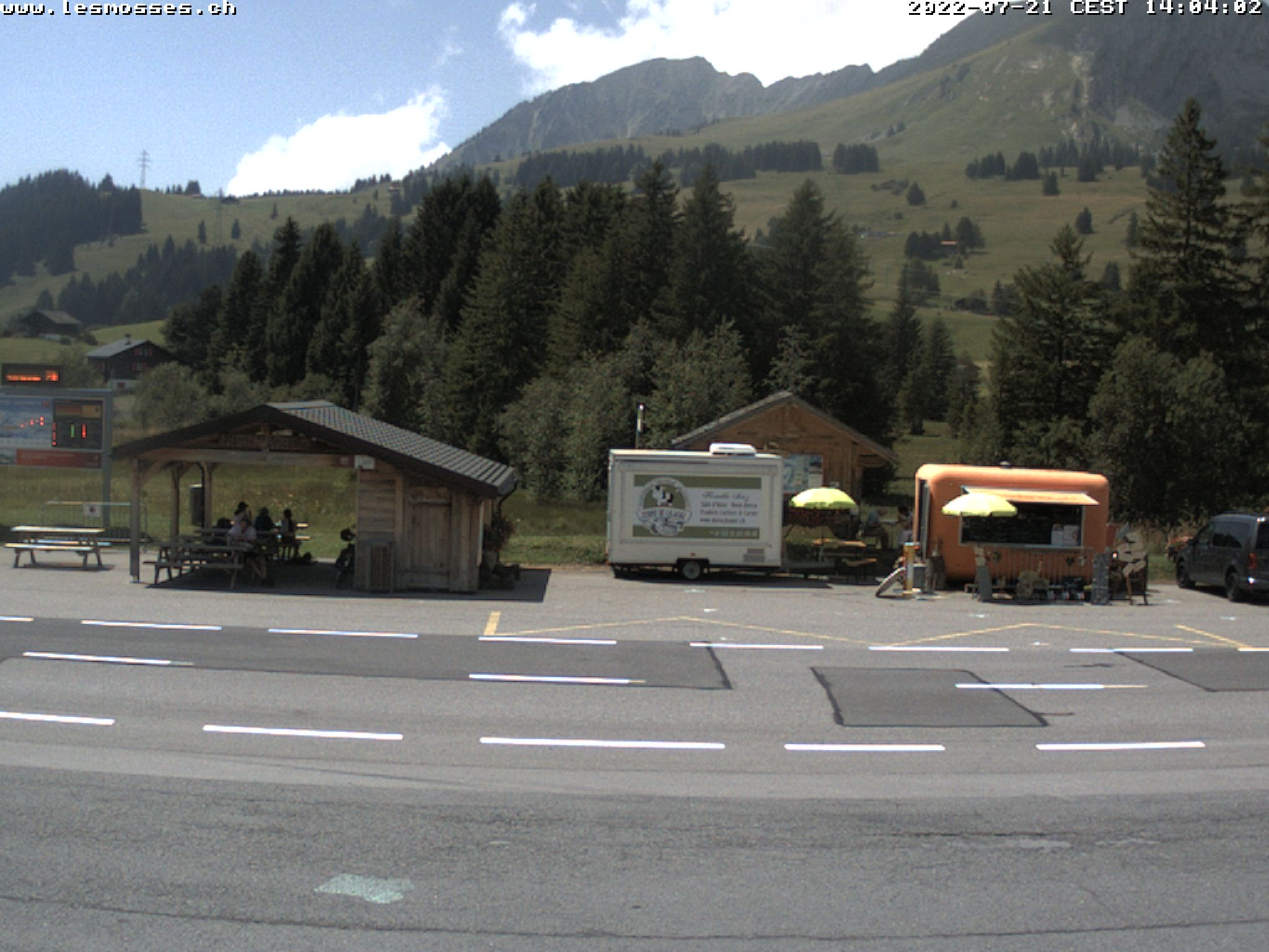 Webcam Centre Station les Mosses